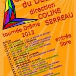 Tournée Drôme été 2013