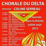 Tournée Drôme été 2012