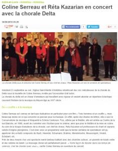 NR chorale Delta 2016