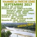 Affiche tournée PAYS DE LOIRE 2017